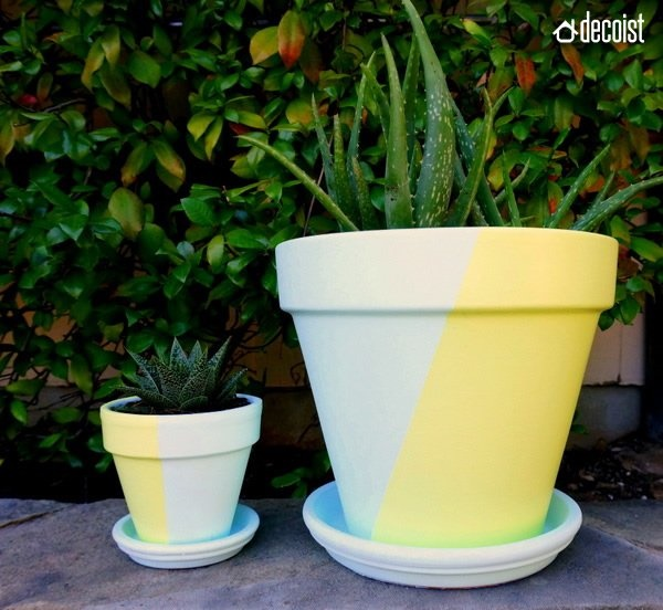 30 Flower Pot Painting Ideas 13