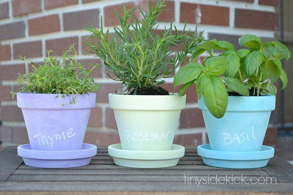 30 Flower Pot Painting Ideas 15