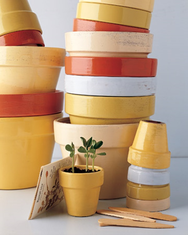 30 Flower Pot Painting Ideas 16