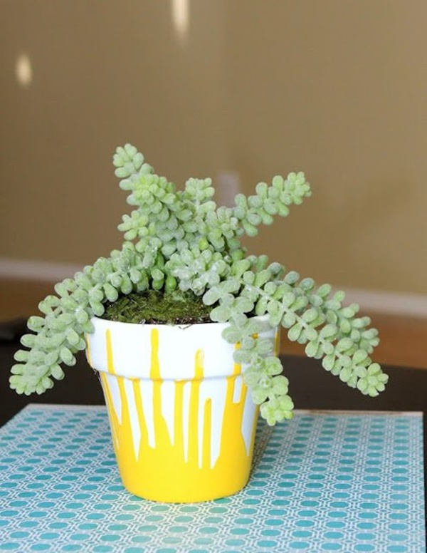 30 Flower Pot Painting Ideas 2