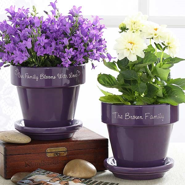 30 Flower Pot Painting Ideas 20