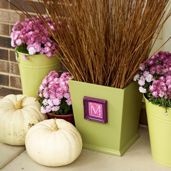 30 Flower Pot Painting Ideas 21