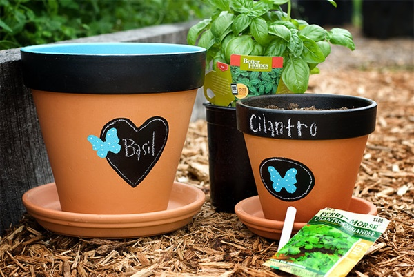 30 Flower Pot Painting Ideas 22