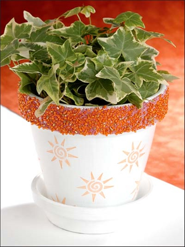 30 Flower Pot Painting Ideas 25