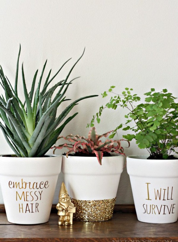 30 Flower Pot Painting Ideas 4
