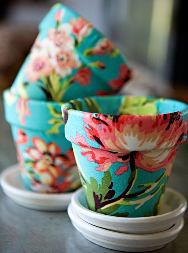 30 Flower Pot Painting Ideas 5