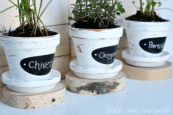 30 Flower Pot Painting Ideas 7