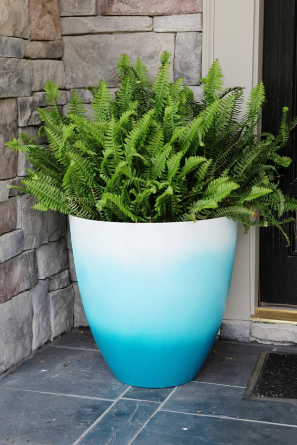 30 Flower Pot Painting Ideas 9