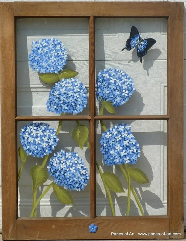 30 Window Glass Painting Ideas for Beginners 14
