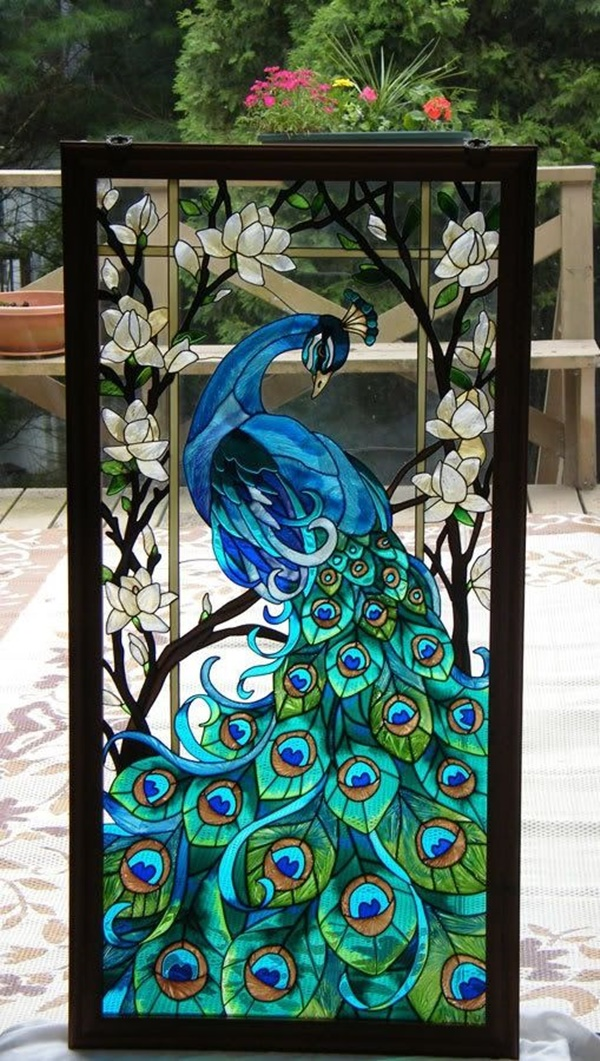 30 Window Glass Painting Ideas for Beginners 15