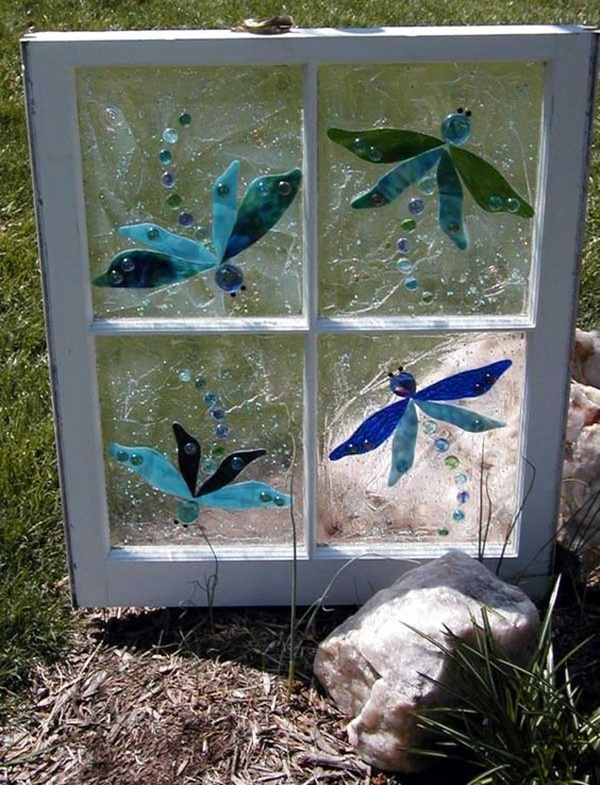 30 Window Glass Painting Ideas for Beginners 16