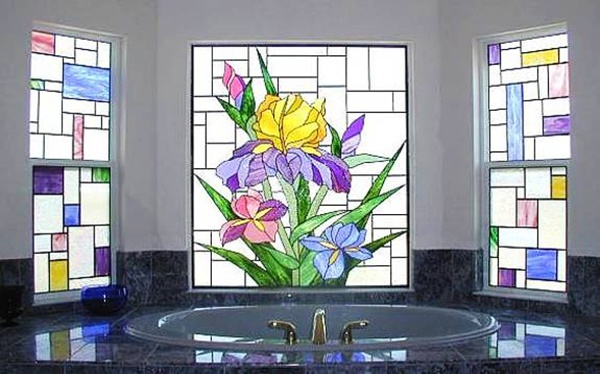 Painting On Glass Windows : Window glass painting designs for beginners