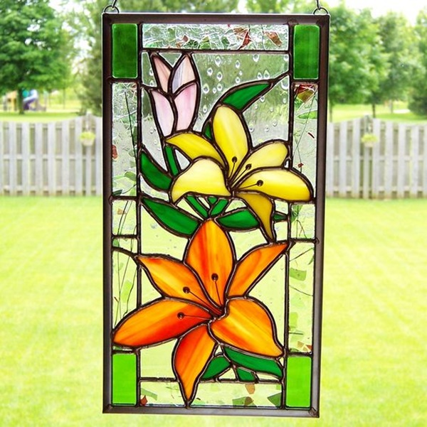 60 window glass painting designs for beginners ForBest Glass Painting Designs