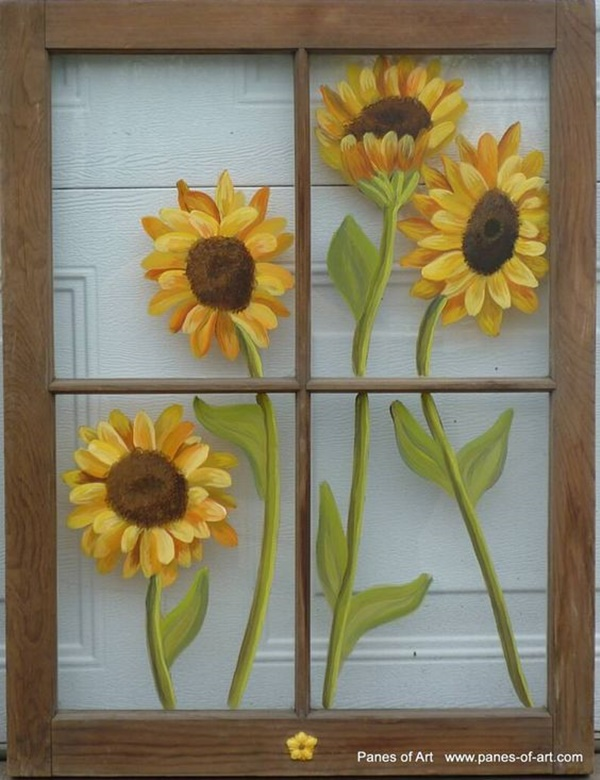40 window glass painting designs for beginners page 2 of - Glass window painting ideas ...