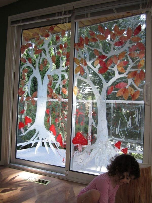 30 Window Glass Painting Ideas for Beginners 3