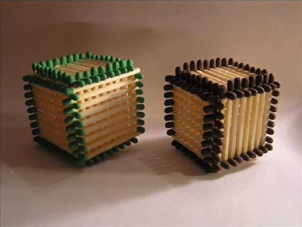 35 Experimental Matchstick Art Ideas 13