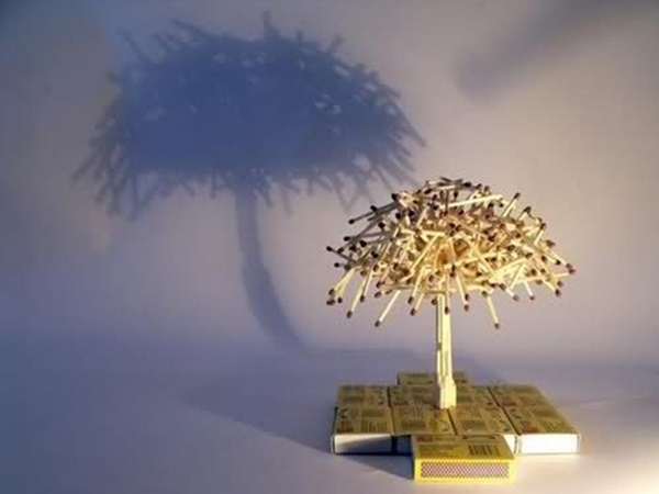 35 Experimental Matchstick Art Ideas 2
