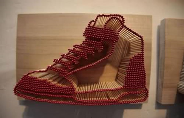35 Experimental Matchstick Art Ideas 7