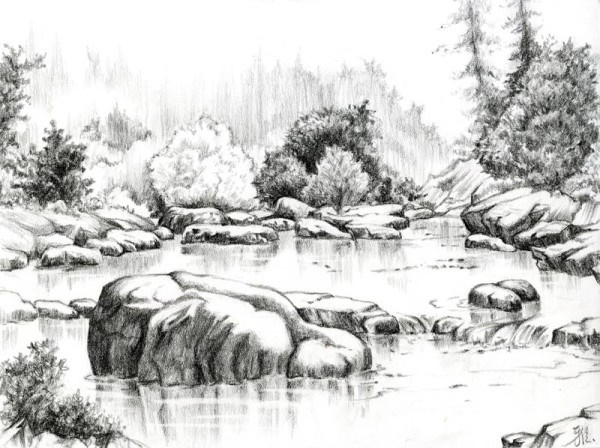 40 Incredible Pencil Drawings of Nature you have never ...