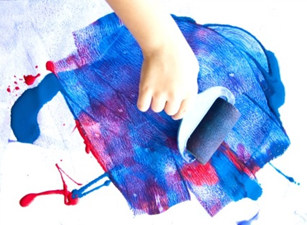 Create Kids Interest in Painting without using Paint Brush 1