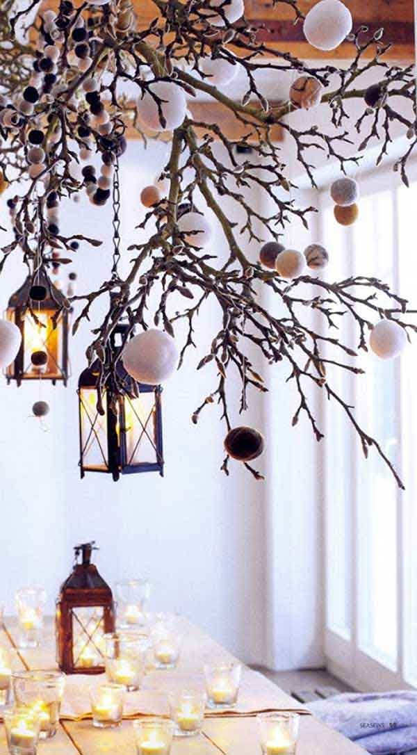 25 Cool Tree Branches Decoration Ideas for Home 5