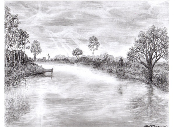 40 Incredible Pencil Drawings of Nature you have never seen before 25