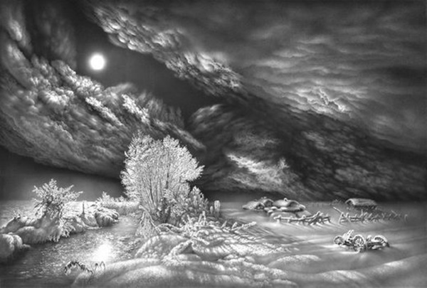 40 Incredible Pencil Drawings of Nature you have never seen before 27