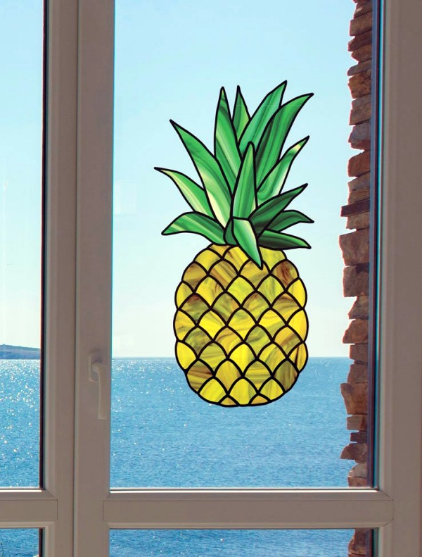 Window Glass Painting Designs for Beginners00003