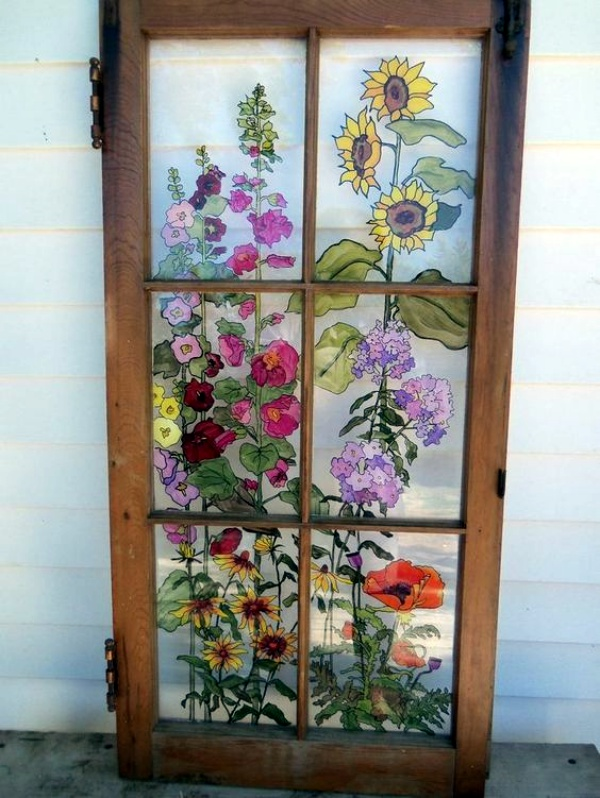 Window Glass Painting Designs for Beginners00006