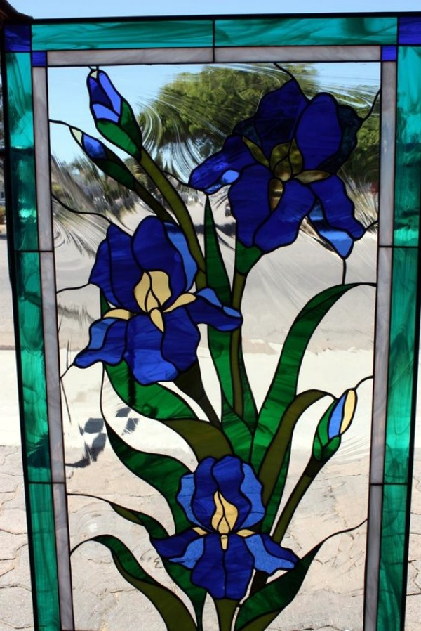 Window Glass Painting Designs for Beginners00008