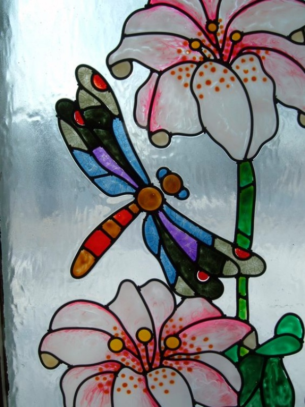 Window Glass Painting Designs for Beginners00009