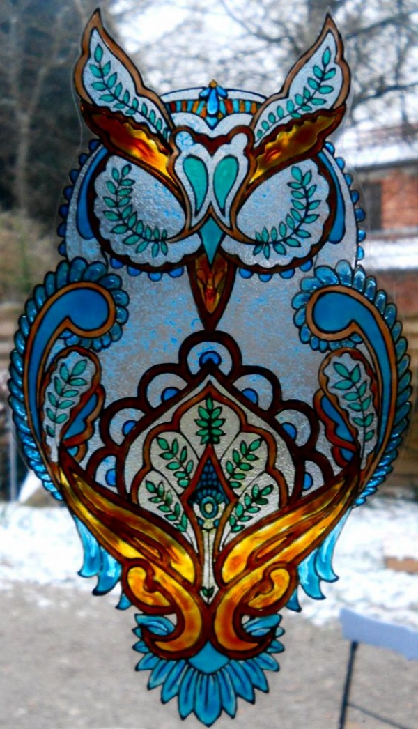 Window Glass Painting Designs for Beginners00010