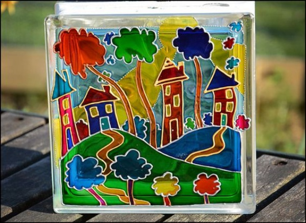 Window Glass Painting Designs for Beginners00011