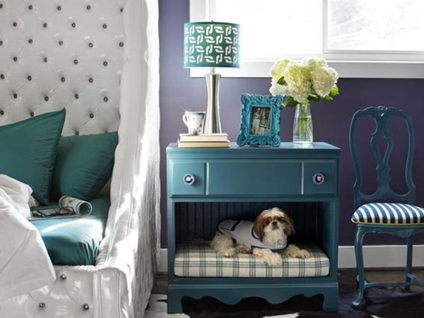 10 Ideas to Reuse Old Furnitures into Pet Beds 10