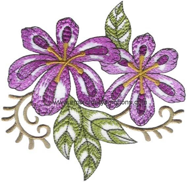 335 Free Hand Embroidery Flower Designs and Ideas 10