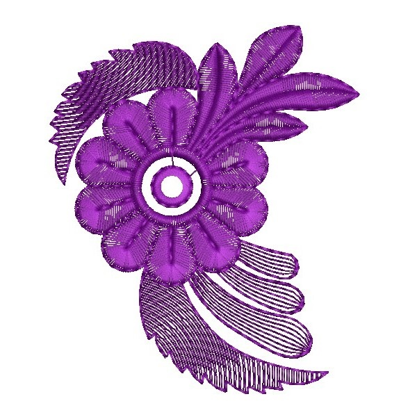 335 Free Hand Embroidery Flower Designs and Ideas 14