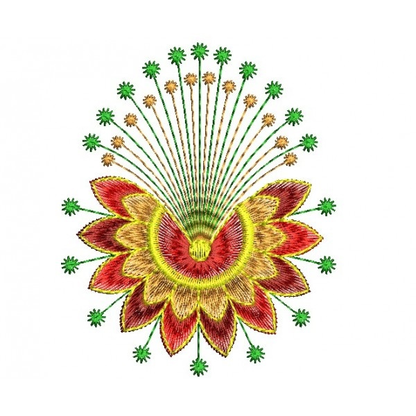 335 Free Hand Embroidery Flower Designs and Ideas 15