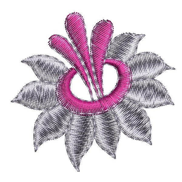 335 Free Hand Embroidery Flower Designs and Ideas 17