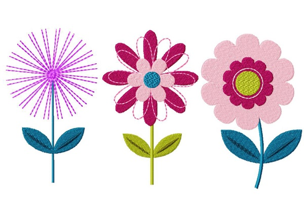 335 Free Hand Embroidery Flower Designs and Ideas 22