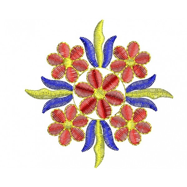 335 Free Hand Embroidery Flower Designs and Ideas 24