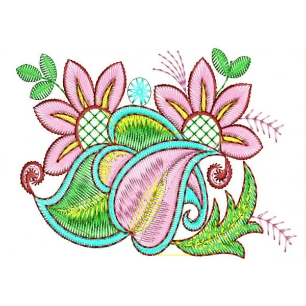 335 Free Hand Embroidery Flower Designs and Ideas 25
