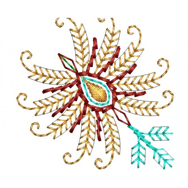 335 Free Hand Embroidery Flower Designs and Ideas 34