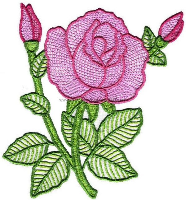 335 Free Hand Embroidery Flower Designs and Ideas 5