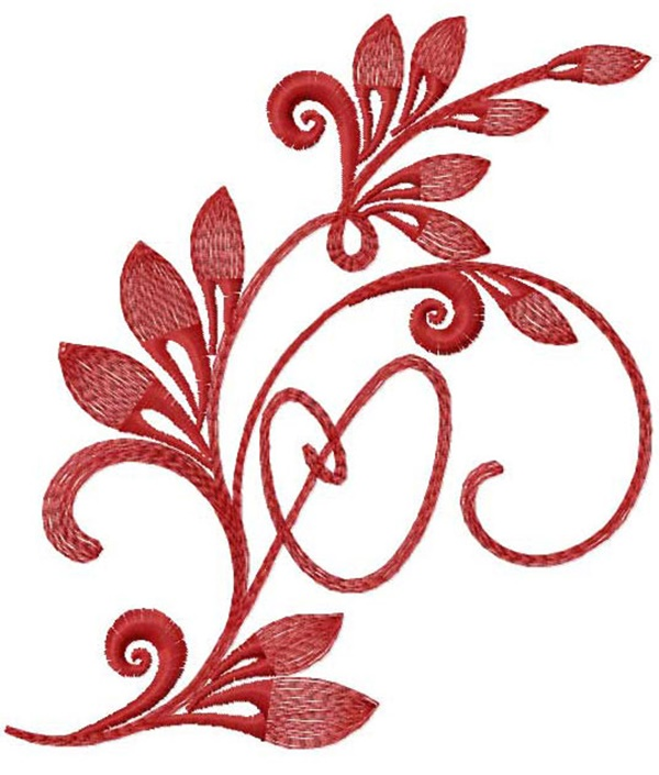 335 Free Hand Embroidery Flower Designs and Ideas 6