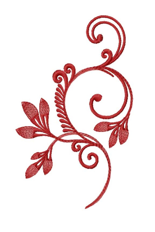335 Free Hand Embroidery Flower Designs and Ideas 9