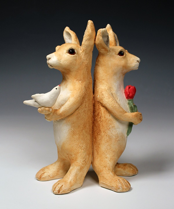 35 Cute Pottery Animal Ideas 7