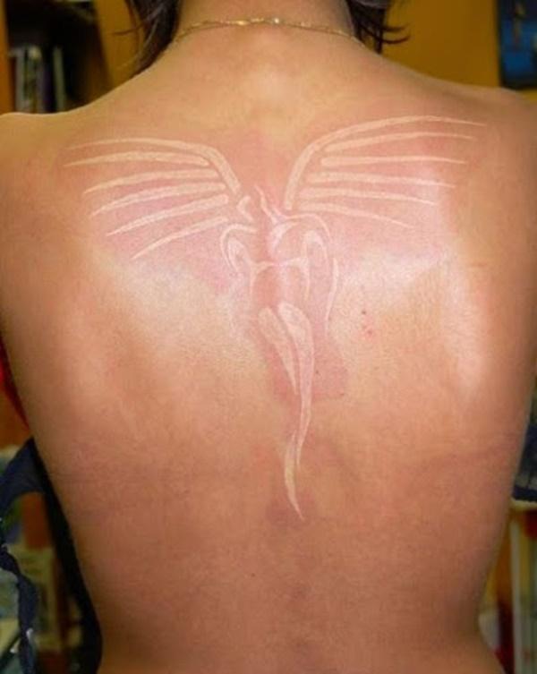 40 Unique yet Attractive Best White Ink Tattoo Designs 33