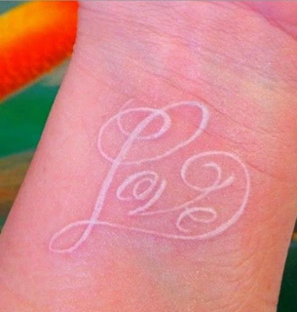 40 Unique yet Attractive Best White Ink Tattoo Designs 34