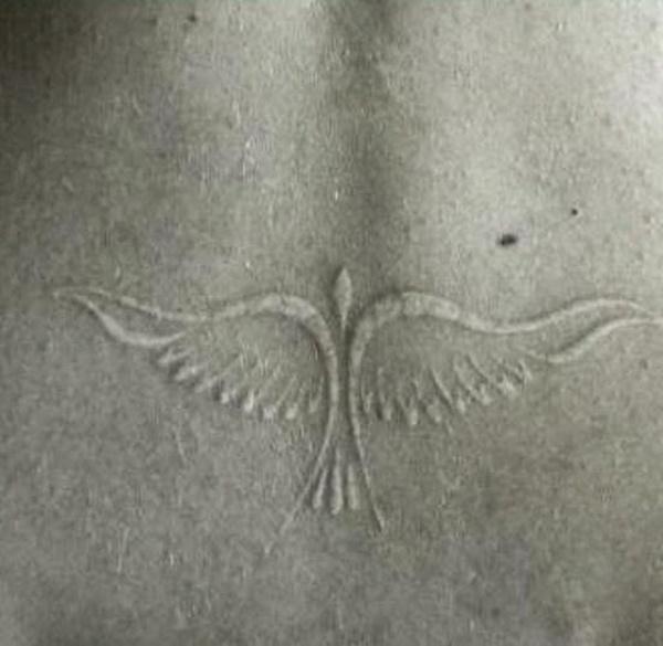 40 Unique yet Attractive Best White Ink Tattoo Designs 39