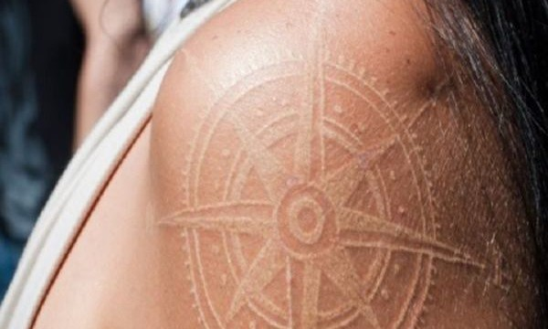 40 Unique yet Attractive Best White Ink Tattoo Designs Feature Image
